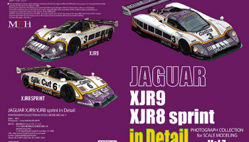 JAGUAR XJR9 / XJR8 in Detail - Model Factory Hiro