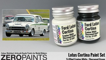 Lotus Cortina Paint Set 2x30ml - Zero Paints