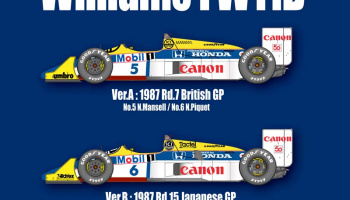 Williams FW11B Fulldetail Kit - Model Factory Hiro