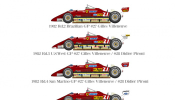Ferrari 126C2 Fulldetail Kit - Model Factory Hiro