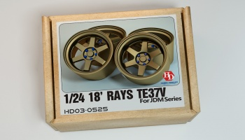 18inch RAYS TE37V Wheels - Hobby Design