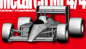 McLaren MP4/4 [Late Version] Fulldetail Kit - Model Factory Hiro
