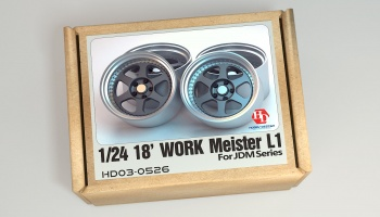 18inch Work Meister L1 Wheels - Hobby Design