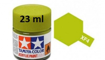 XF-4 Yellow Green Acrylic Paint 23ml XF4 - Tamiya