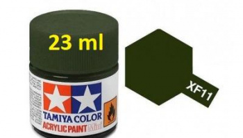 XF-11 J.N. Green Acrylic Paint 23ml XF11 - Tamiya