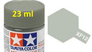 XF-12 J.N. Grey Acrylic Paint 23ml XF12 - Tamiya
