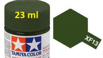 XF-13 J.A. Green Acrylic Paint 23ml XF13 - Tamiya