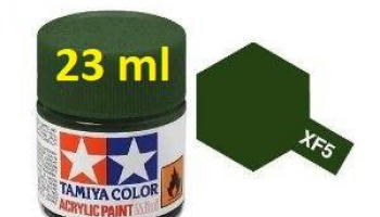 XF-5 Flat Green Acrylic Paint 23ml XF5 - Tamiya