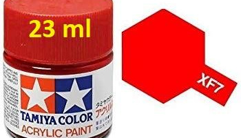 XF-7 Flat Red Acrylic Paint 23ml XF7 - Tamiya
