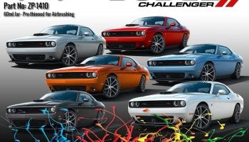Dodge Challenger Colour Matched MANGO Paints 60ml