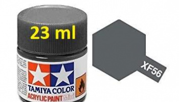 XF-56 Metallic Grey Acrylic Paint 23ml XF56 - Tamiya