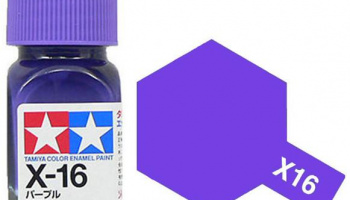 X-16 Purple Enamel Paint X16 - Tamiya