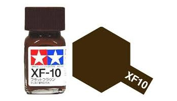 XF-10 Flat Brown Enamel Paint XF10 - Tamiya