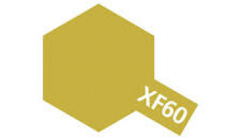 XF-60 Dark Yellow Enamel Paint XF60 - Tamiya