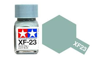 XF-23 Light Blue Enamel Paint XF23 - Tamiya