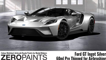 Ford GT Ingot Silver Paint 60ml - Zero Paints
