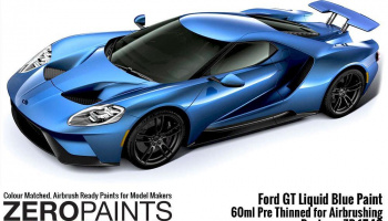Ford GT Liquid Blue Paint 60ml - Zero Paints