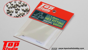 Hex Fitting 1.0mm - Top Studio