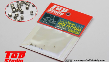Hex Fitting 1.2mm - Top Studio