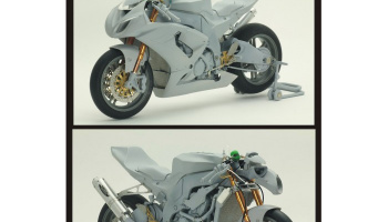 Kawasaki ZX-10R Detail-Up Set - Top Studio