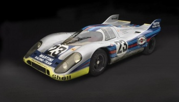 Porsche 917 Martini Silver Paints 60ml