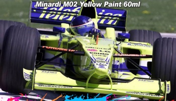 Minardi M02 Yellow Paint - Zero Paints