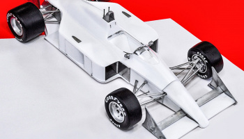 McLaren MP4/4 Fulldetail Kit - Model Factory Hiro