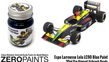 Espo Larrousse Lola LC90 Blue Paint 30ml - Zero Paints