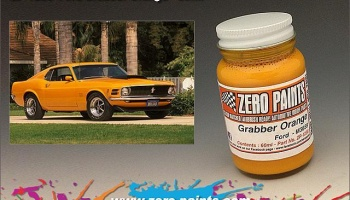 Ford Grabber Orange Paint 60ml - Zero Paints