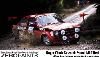 Roger Clark Cossack Escort Mk2 Red Paint 60ml - Zero Paints