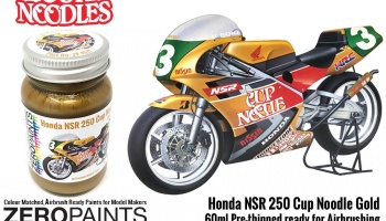 Honda NSR 250 Cup Noodle Gold Paint 60ml - Zero Paints
