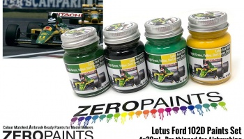 Lotus Ford 102D Paint Set 4x30ml - Zero Paints