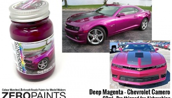 Deep Magenta Metallic - Chevrolet Camero Paint 60ml - Zero Paints