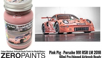 Pink Pig Porsche 991 RSR LM 2018 60ml - Zero Paints