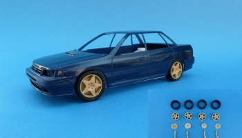 Subaru Legacy/Impreza Tarmac set With 5-Spoke Rims - Renaissance