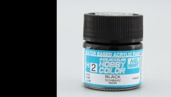 Hobby Color H 002 - Black Gloss - Gunze