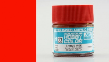 Hobby Color H 023 - Shine Red - Gunze