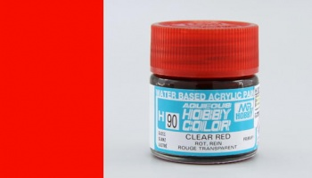 Hobby Color H 090 - Clear Red - Gunze
