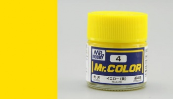 Mr. Color C 004 - Yellow Gloss - Gunze