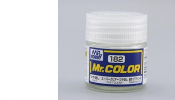 Mr. Color C 182 - Flat Clear - Gunze