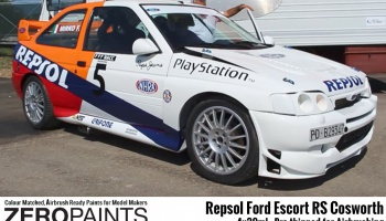Repsol Ford Escort RS Cosworth Paint Set 4x30ml - Zero Paints