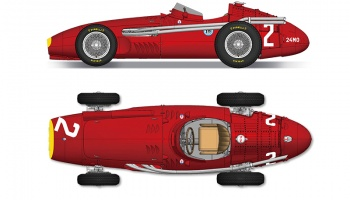 Maserati 250F Fulldetail Kit - Model Factory Hiro