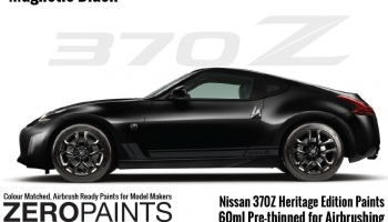 Nissan 370Z Heritage Edition Magnetic Black Paints 60ml - Zero Paints