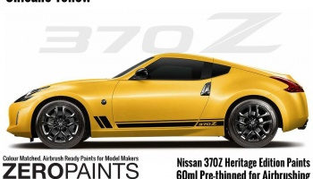 Nissan 370Z Heritage Edition Chicane Yellow Paints 60ml - Zero Paints