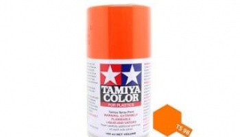 Spray TS98 Pure Orange - Tamiya