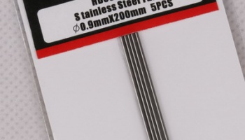 Stainless Steel Tube 0.9mm*200mm - Hobby Design