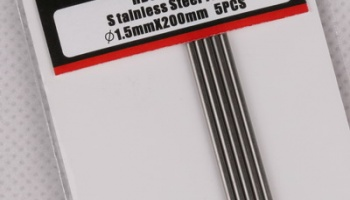 Stainless Steel Tube 1.5mm*200mm - Hobby Design