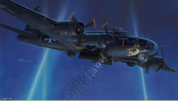 US Army B-17G Flying Fortress Airborne Leaflet 1/72 - Hasegawa