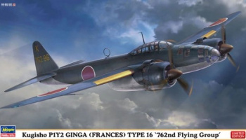 P1Y2 Ginga Type 16 `762nd Flying Group 1/72 - Hasegawa