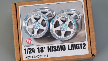 18' Nismo lmgt2 Wheels (Resin+Metal Wheels+Decals) 1/24 - Hobby Design